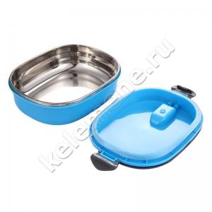 Термос-тарелка (ланчбокс) для еды прямоугольная 0,9л - 1,8л
