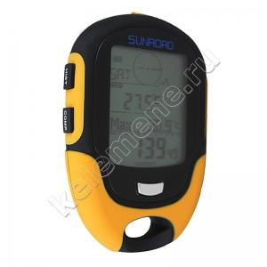 Многофункциональный цифровой высотомер, барометр, гигрометр, компас SunRoad FR500