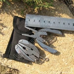 Портативный многофункциональный складной набор для выживания: плоскогубцы, нож, отвёртка, напильник