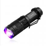 Ультрафиолетовый фонарь Q5 на аккумуляторе 2000 люмен 395 нм