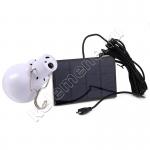 Светодиодная лампа-светильник со встроенным аккумулятором и usb-зарядкой от солнечных батарей