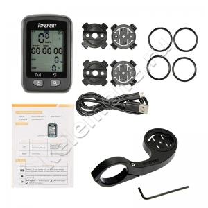 Беспроводной велокомпьютер iGPSPORT iGS20E с GPS и креплением на руль