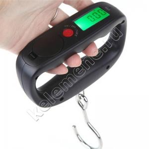 Весы электронные туристические (безмены) с крючком 50 кг / 10 гр