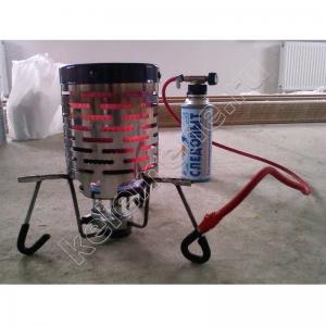 Обогреватель-насадка туристическая на газовую горелку (дожигатель)