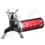 Газовый адаптер (резьбовой-цанговый) с ножками-опорами для газовых горелок и плиток