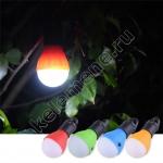 Светодиодная лампа на батарейках для палатки, кемпинга